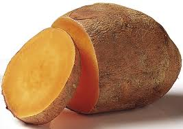 Sweet potato makes a great pre-workout snack