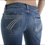 Picture of Woman in Jeans