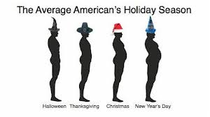 Average American Holiday Season Weight Gain