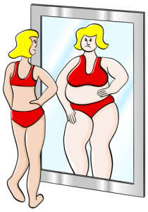 http://www.dreamstime.com/stock-photo-thick-thin-woman-vector-illustration-looks-mirror-image31234050