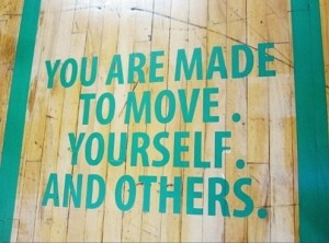 You are made to move